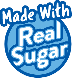 made with real sugar
