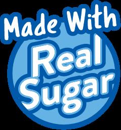 made with real sugar